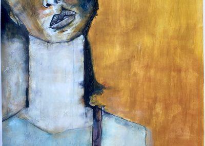 Minerva | acryl on paper | 100x70 cm | €9̶0̶0̶ SOLD