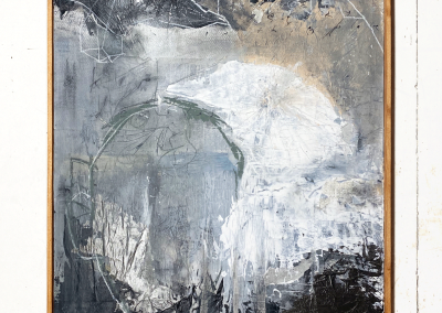 Untitled | mixed media on wood | 67x52 cm | 1199,- inc frame